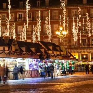 Julmarknad Plaza Mayor