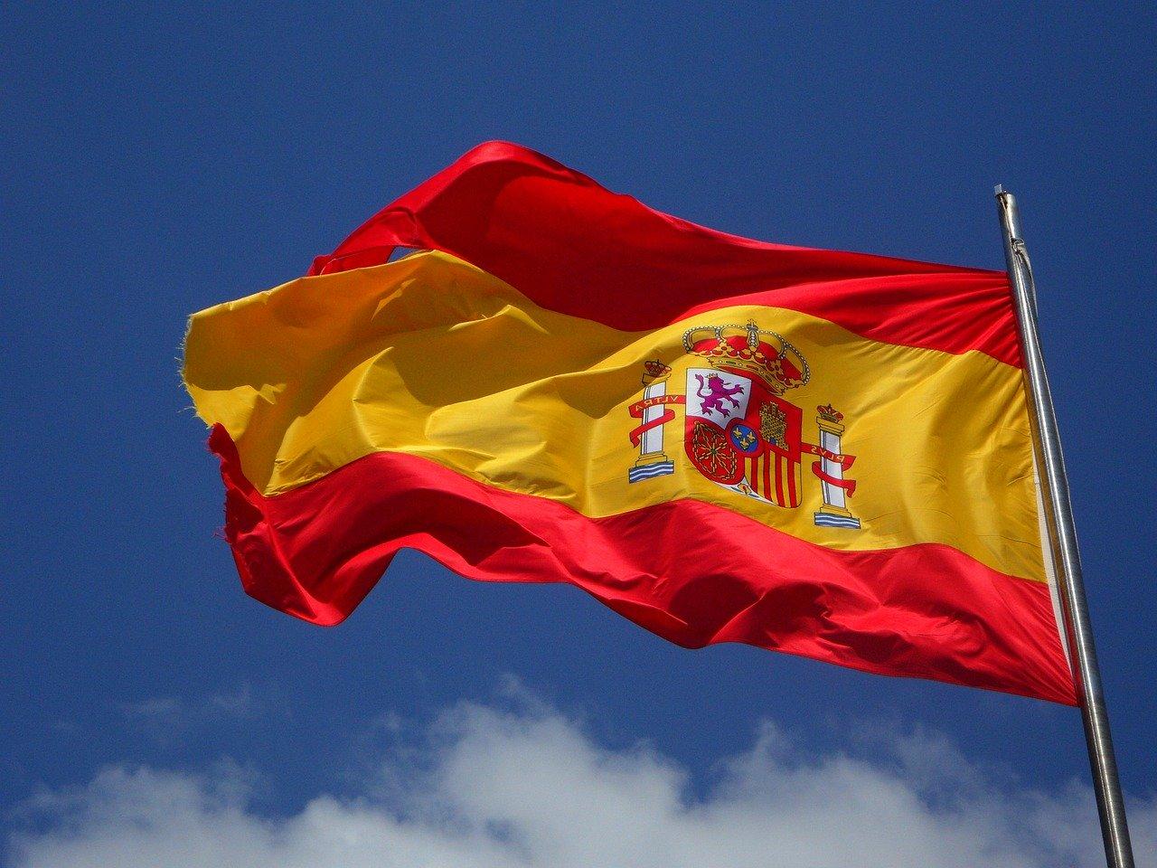 spanska flaggan